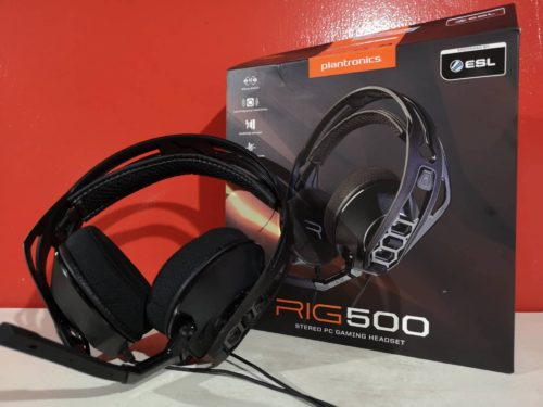 Plantronics Rig 500 Review: A Modular Gaming Headset?