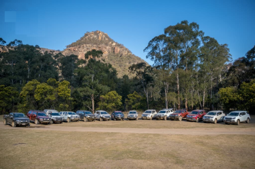 Isuzu I-Venture Club: Blue Mountains