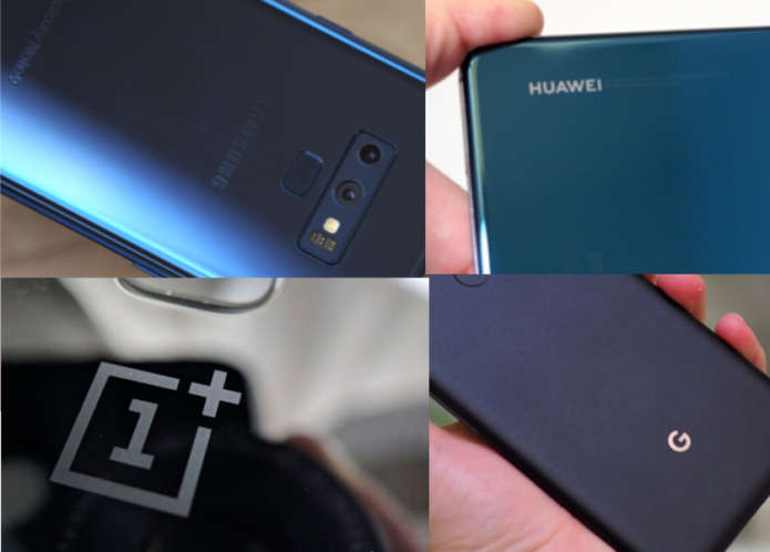 Top premium Android smartphones of 2018: the story so far