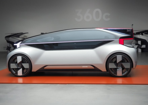 Volvo 360c concept gives autonomous cars a purpose and a voice