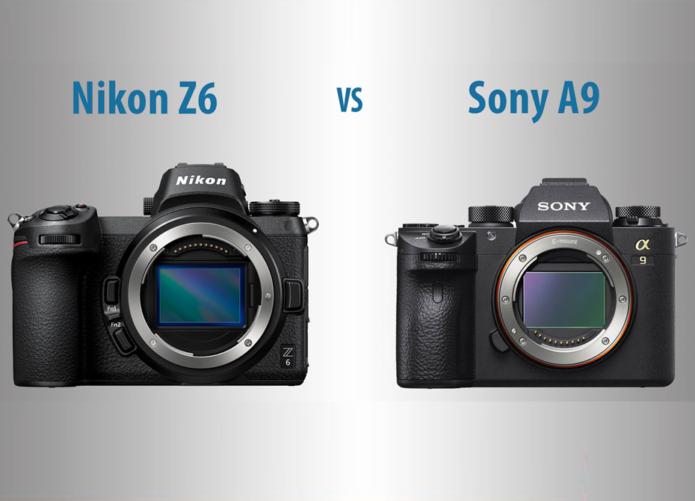 Nikon Z6 vs Sony A9 – The 10 Main Differences