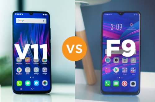 VIVO V11 vs OPPO F9 specs comparison
