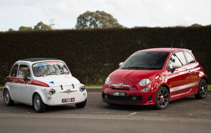 REVISIT: Abarth 595 Old v New, 1970 to 2017