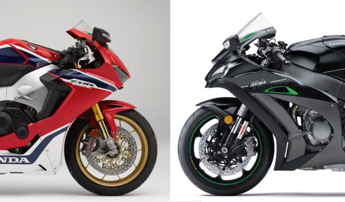2018 Honda CBR1000RR SP vs. 2018 Kawasaki Ninja ZX-10R SE - Superbike Comparison
