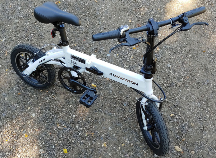 Swagtron EB-5 Review : This Foldable Electric Bike is on-point