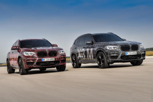 BMW X3 M and X4 M officially revealed