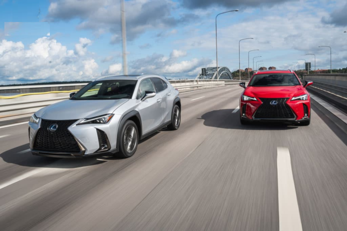 2018 Lexus UX 200 F Sport and UX 250h F Sport Review - International