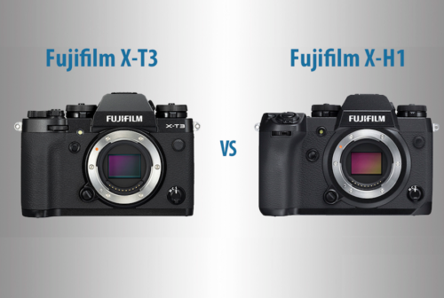 Fujifilm X-T3 vs X-H1 – The 10 Main Differences