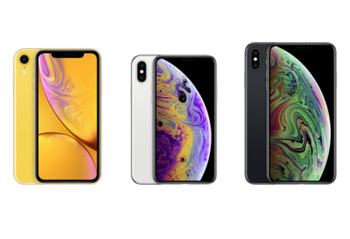 iPhone XR vs iPhone XS vs iPhone XS Max: Apple's new phones compared