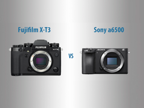 Fujifilm X-T3 vs Sony a6500 – The 10 Main Differences