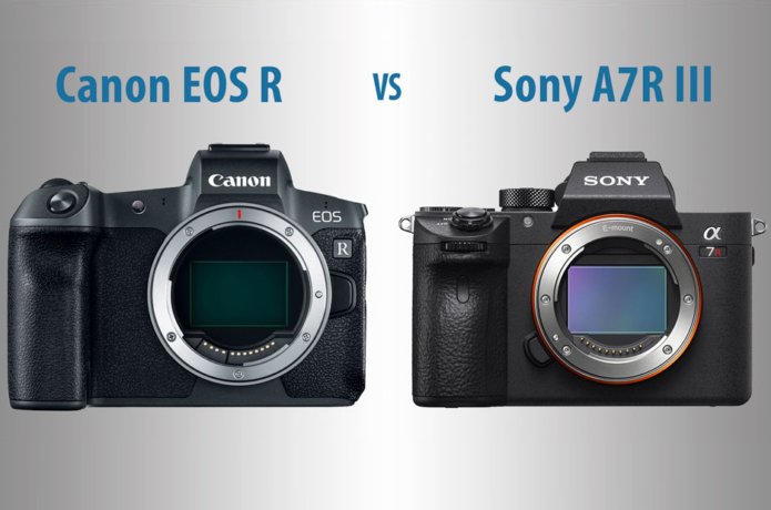 Canon EOS R vs Sony A7R III – The 10 Main Differences