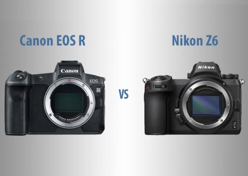 Canon EOS R vs Nikon Z6 – The 10 Main Differences