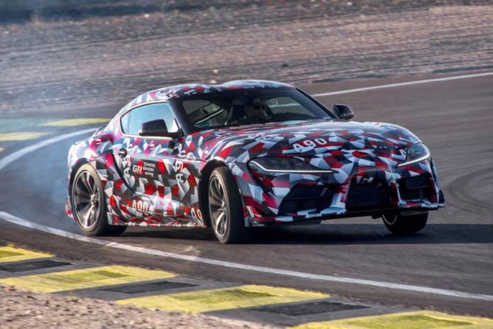 2019 Toyota A90 Supra Review – Prototype Drive