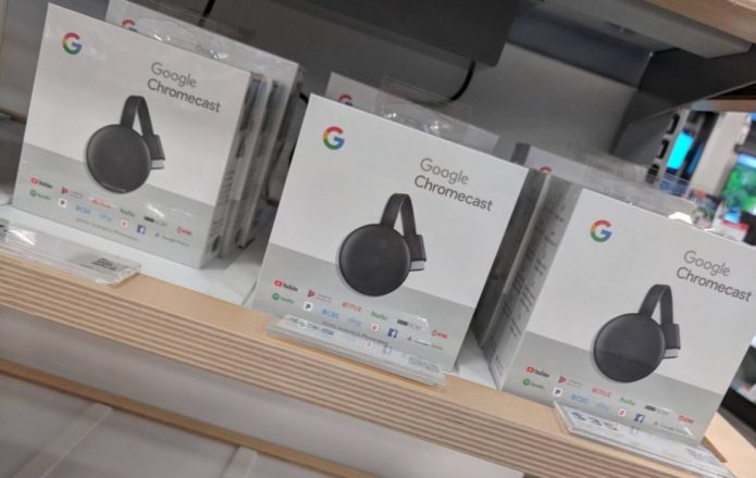 3rd Gen Chromecast sold early, spoils Google surprise