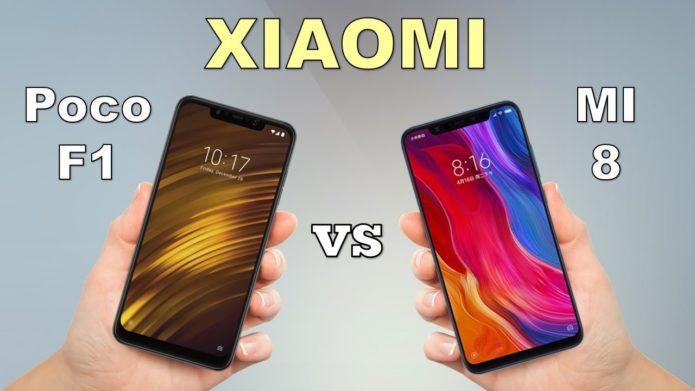 Pocophone F1 vs Mi 8 - Xiaomi Flagships Comparison