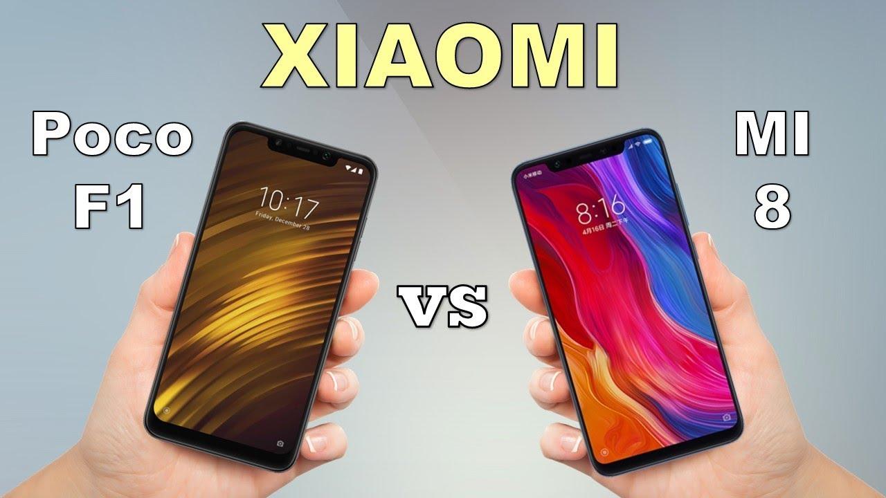 Pocophone F1 Vs Mi 8 Xiaomi Flagships Comparison Gearopen By 6gb 64gb