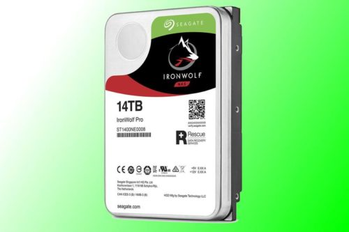 IronWolf Pro 14TB Hard Drive review: Seagate's best gets more capacity and speed