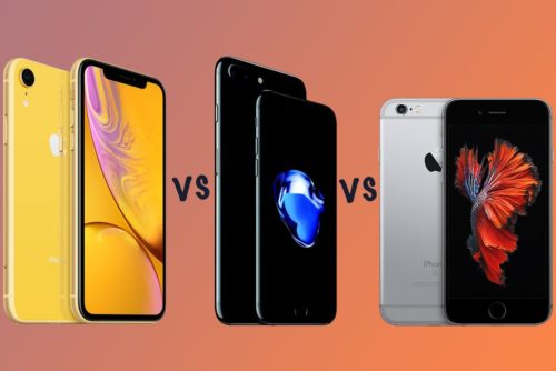 Apple iPhone XR vs iPhone 7 vs iPhone 6S: Should you upgrade and why?