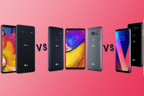 LG V40 ThinQ vs V35 ThinQ vs V30: What's the rumoured difference?