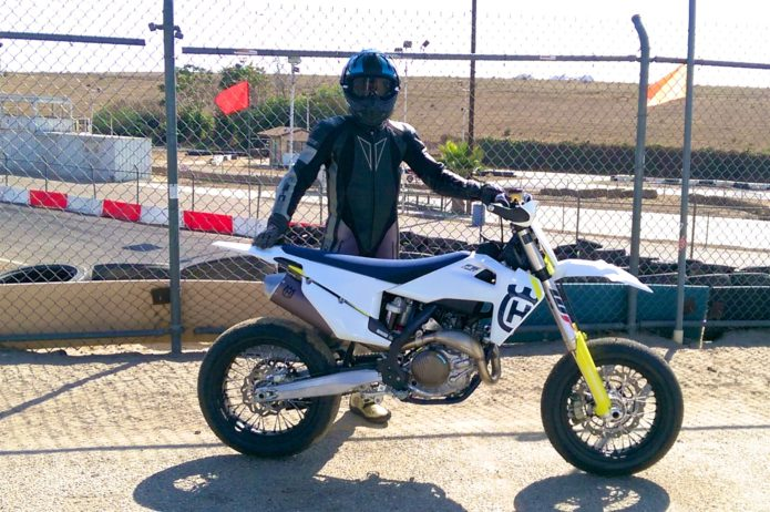 2019 Husqvarna FS 450 Review: Track Tested - Supermoto Racing Ready