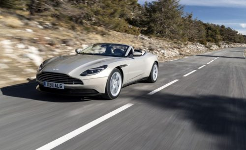2019 Aston Martin DB11 V8 Volante review