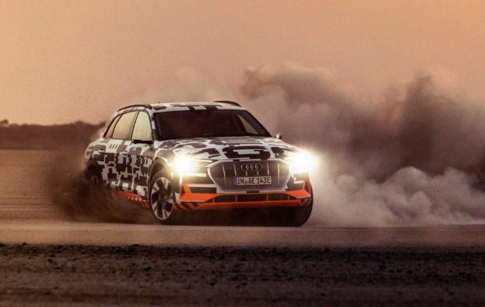 2019 Audi e-tron first drive review: Drifting an EV SUV