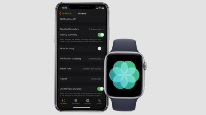 How to use the Apple Watch Breathe app