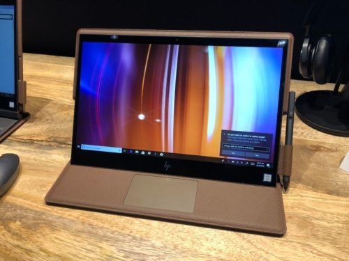 HP Spectre Folio Hands-on Review : A leather-clad laptop that's luxurious