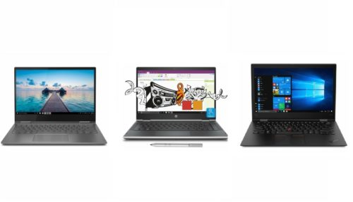 Convertible Laptops Comparo: Lenovo Yoga 730 vs HP Pavilion x360 vs ThinkPad X1 Yoga