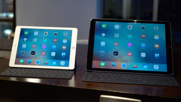 The iPad Pro and the MacBook are on a collision course