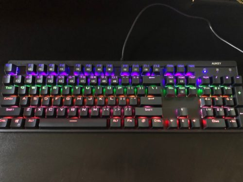 AUKEY KM-G6 LED Mechanical Keyboard Review