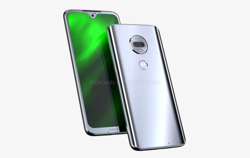 Moto G7 leaks, looks like the new silver budget king