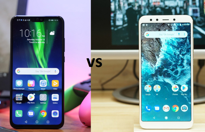 Honor 8X vs Xiaomi Mi A2 - Quick Comparo
