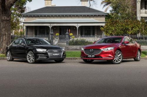 2018 Audi A4 S-Line TFSI v 2018 Mazda Mazda6 Atenza Comparison