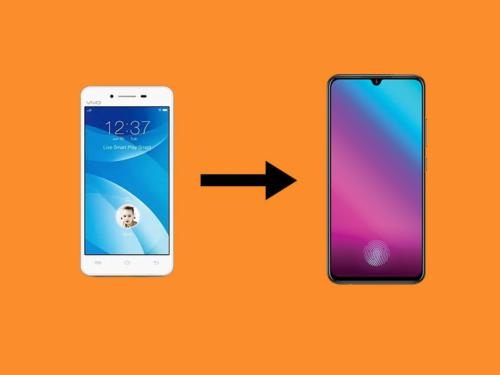 Smartphone Design Evolution: VIVO V-series' Screen