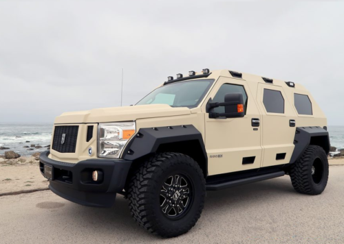 The USSV Rhino GX might just be the perfect family car