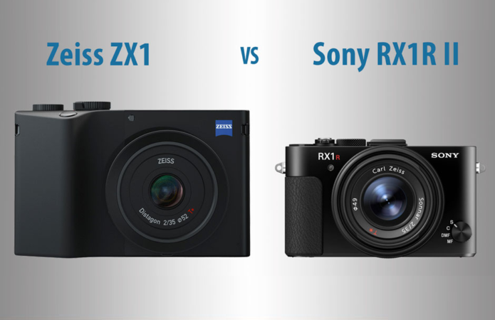 Zeiss ZX1 vs Sony RX1R II – The 10 Main Differences