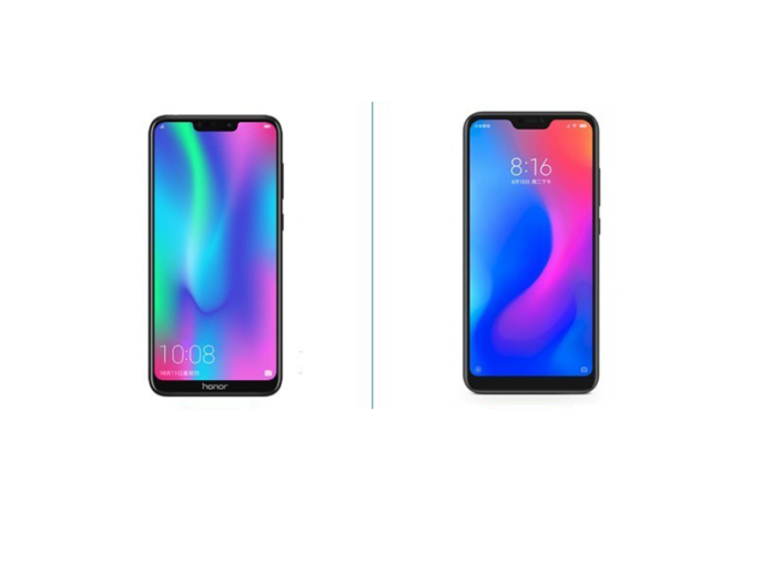 Honor 8C vs Xiaomi Redmi 6 Pro: Choosing Best 1000-Yuan Phone