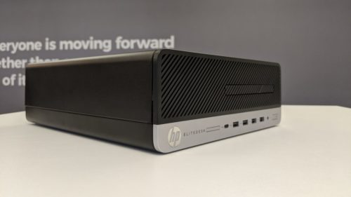 HP EliteDesk 705 G4 SFF PC review