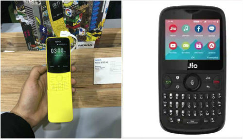 Nokia 8110 4G vs JioPhone 2: Here's how the smart feature phones compare