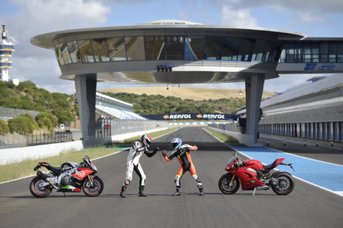 Battle Of The Titans: Aprilia RSV4 RF Vs. Ducati Panigale V4 S – Track