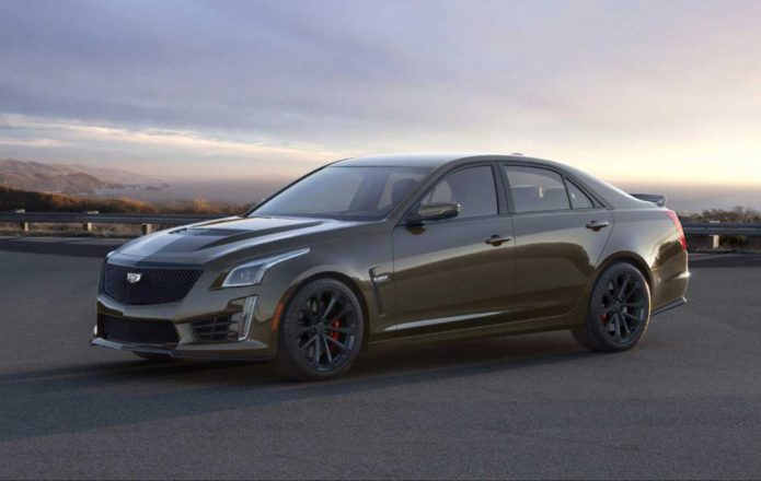 2019 Pedestal Edition ATS-V Coupe and CTS-V cars celebrate V series