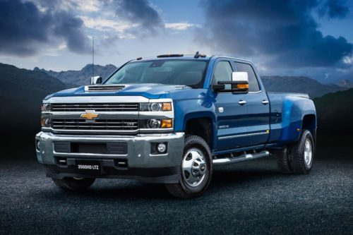 Chevrolet Silverado 3500HD LTZ specs revealed