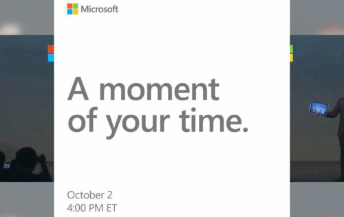 Microsoft Surface Event October 2nd: Everything we expect