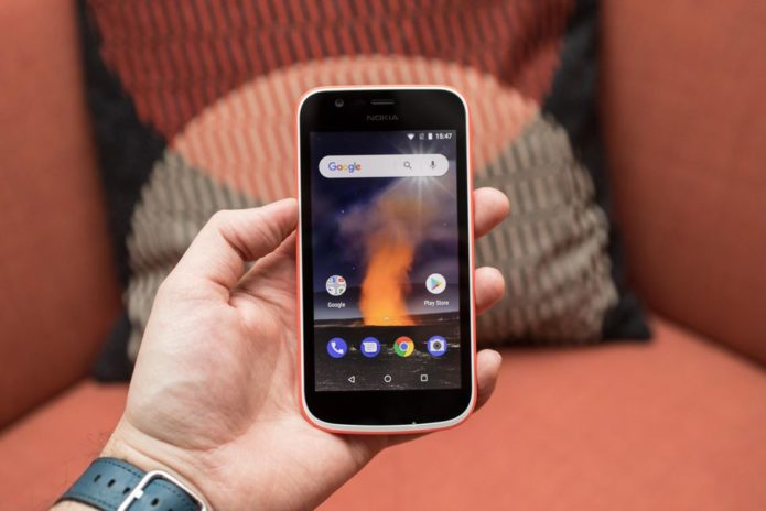 Nokia 1 Android Go Smartphone Hands-On