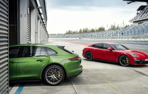 Porsche Panamera GTS and Panamera GTS Sport Turismo offer 460hp turbo V8