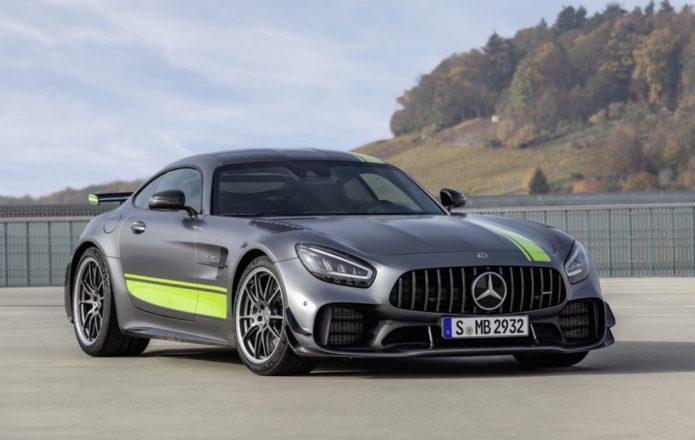 2020 Mercedes-AMG GT R PRO tops AMG GT 2-door revamp