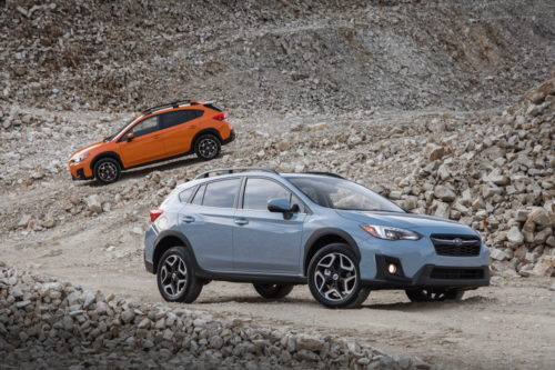 2019 Crosstrek Hybrid has something no Subaru has ever had