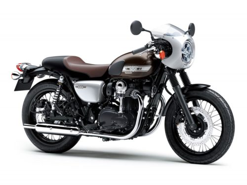 2019 Kawasaki W800 CAFE First Look