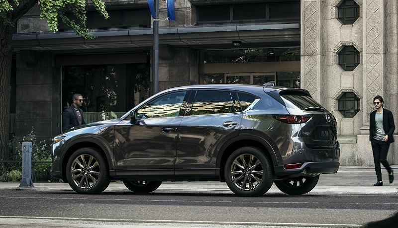 what s new in the mazda cx 5 for the 2019 model year gearopen. Black Bedroom Furniture Sets. Home Design Ideas